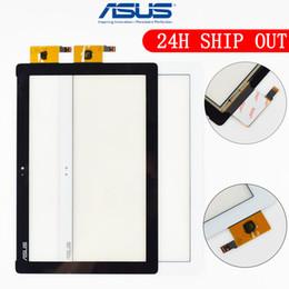 Asus panel pc online-Originale 10.1 '' Per Asus ZenPad 10 ZenPad Z300 Z300M Touch Screen Digitalizzatore Pannello sensore Tablet PC Cavo a nastro giallo per Z300M