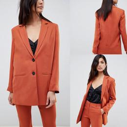 Parlak Renk Anne Gelin Pantolon Takım Elbise Turuncu Şifon Iki Düğme Kadın Giyim Ofis Bayan Resmi Giyim nereden
