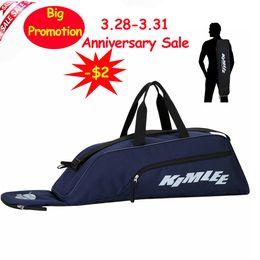 Softball Bat Piscina engrenagem equipamento Kimlee Sports Backpack Waterproof sacola Baseball T-ball para Adolescentes Youth Travel Suitcase de