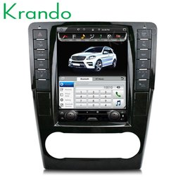 Wholesale Krando Android Tesla Pantalla vertical para coche Reproductor de dvd gps de navegación para benz ml auto radio multimedia sistema