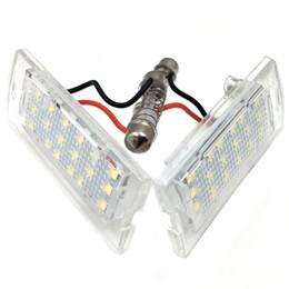 lampe bmw x5 Promotion Gzhengtong Nikauto 2Pcs Blanc 3528SMD Automobile Plaque de licence de montage de la lampe de la plaque d'immatriculation pour BMW E53 X5