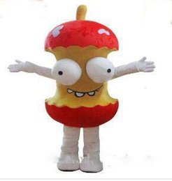 Animar manzana online-2019 de Alta Calidad Material de EVA Casco Animado humor de dibujos animados de la mascota de Apple mascota de Navidad de Halloween para adultos ropa envío libre del ccsme