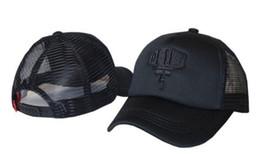 Moto deus en Ligne-2019 polos Deus Ex Machina Baylands Trucker Snapback Caps noir MOTORCYCLES Casquette de baseball maille sport prier octobre casquette