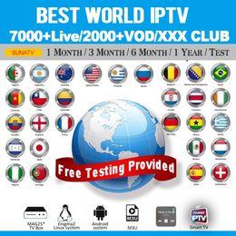 2019 dvb s2 media player World Iptv Smarters Com Assinatura de 1 Ano Cobrindo 7000+ Live Espanha França Reino Unido Itália Abonamento Iptv Para Smart TV M3u Mag Box