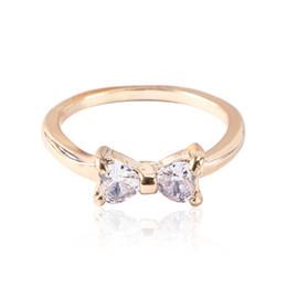 Schöne ringe geschenk für mädchen online-Ring für Mädchen Hochzeit Verlobungs Zirkon Ring Geschenke Classic Lovely Innendurchmesser: 18mm