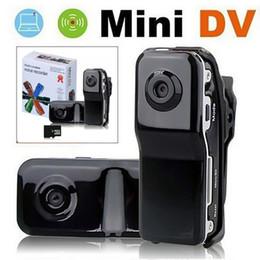 Recorder Audio Video aérea MD80 Mini câmera DV DVR Vídeo Webcam Suporte 32GB HD Cam Capacete Motociclo Camera Digital de Fornecedores de câmera de segurança escondida em casa hd