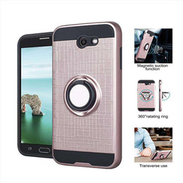 cases for coolpad Coupons - For Coolpad Legacy Moto E5 Plus G6 Play Samsung J7 Prime J3 2018 LG K20 Plus Q7 Stylo 5 Ring Case Armor Rugged Holder Fastion Cover Metropcs