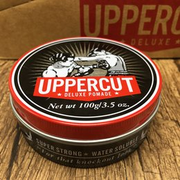 waxing hair wholesale Promo Codes - 20pcs Uppercut Monster Hold Retro Wax  Pomade Zombie Hair Oil-based Retro Hair Polish Wax Pomade