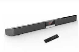 Home cinema di bluetooth online-SR100 Bluetooth Soundbar Speaker 40W Home Theater TV Sound Bar Sereno wireless Cinema ottico coassiale Altoparlanti per subwoofer + Telecomando