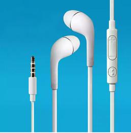 microphone sans fil Promotion Avec Logo 2pcs / lot 3.5mm in-ear S4 écouteurs avec micro écouteurs Pour Samsung Galaxy S3 S4 casque livraison gratuite