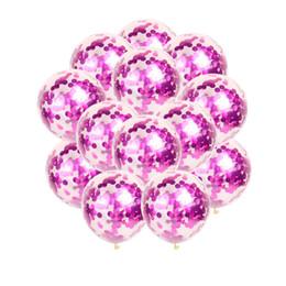 Klare Ballons Gold Star Folie Konfetti Transparente Ballons Alles Gute zum Geburtstag Baby Shower Hochzeit Party Dekorationen von Fabrikanten