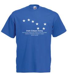 Ирландский гражданин армия топ 1916 рост ирландский республиканский Ирландия мужская женская футболка мужская гордость темный футболка пользовательские Джерси футболка от