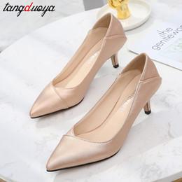 Sommer Mode High Heel Sandalen Frauen Schuhe Spitz Pumps High Heels Sandalen Schuhe Frau 2019 zapatillas mujer von Fabrikanten
