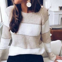 donna girocollo Chunky MAGLIA CONTRASTO BLOCCO DONNA LARGO oversize maglione