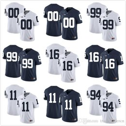 4f75a5822 Custom Mens Youth Penn State Nittany Lions Any Name Any Number Personalized  Kids Man Home Away NCAA College Football Jerseys