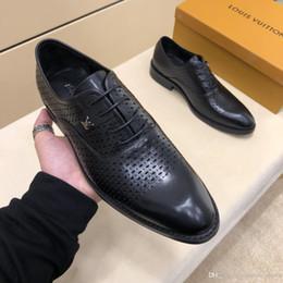2019 Qualité De Luxe Hommes Buiness Chaussures Style Hommes Robe Habillée Chaussures De Marque De Mode Chaussures Pour Hommes Taille 38-44 ? partir de fabricateur