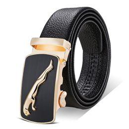2019 nastro cummerbund nero Cintura uomo cinturino in vera pelle cinture per uomo fibbia automatica di alta qualità nero cinture cinturini cinturone hombre nastro cummerbund nero economici