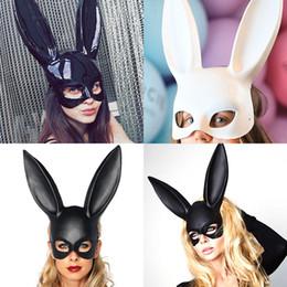 Deutschland Kaninchen maske mode ostern maskerade maske bunny kaninchen gesichtsmaske höhe lang 38 cm für geburtstag party ostern halloween Versorgung