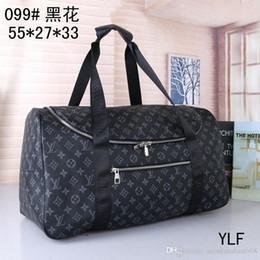 2019 bolsas de lona para mujer 2019 bolsos de la marca bolsa de viaje bolsa de viaje de la nueva manera mujeres de los hombres, los diseñadores de la marca equipaje bolsos bolsa grande de deporte de la capacidad libre del envío 099 #