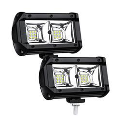 Luces led para remolques online-Luz de conducción de la lámpara de inundación 54W LED del trabajo, jeep, campo a través, 4wd, 4x4, Arena del carril, ATV, moto, bici de la suciedad, autobuses, remolques, camiones