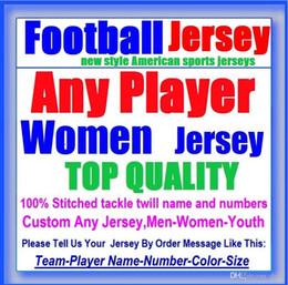 Пользовательские трикотажные изделия американского футбола Канзас-Сити команда колледжа аутентичные ретро регби футбол бейсбол баскетбол хоккей джерси 4xl 5xl 6xl одежда от