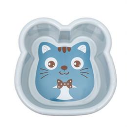 Bacia de plástico para lavar os rostos das crianças grande casa engrossado lavagem dos desenhos animados pés lavagem do bebê nádegas lavar bacia de Fornecedores de pés de plástico para bebê