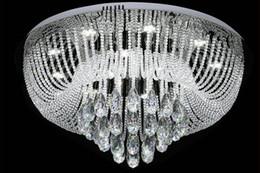 2019 dessins de cuisine cool lampe de plafond en cristal design moderne conduit moderne led Plafondlamp AC110V lustre salon lumières, expédition rapide