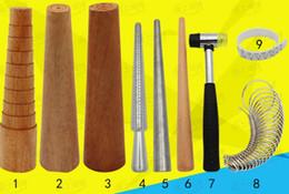 mescoli gli strumenti dei gioielli 9kind @ attrezzatura asta di riparazione di deformazione del braccialetto di misura della bocca dell'anello da utensile per tagliare la bottiglia fornitori