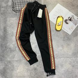 54a7af43756344 19ss G Letter Paris Stripe Pants elastic waist track pants Trousers Men  Women fashion sport Jogger Sweatpants Outdoor Pants gore tex pants deals