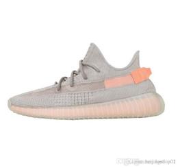 Canada adidas yeezy 350 V2 off white boost sneakers Nouveau chaussures de designer 36-46 de haute qualité au sésame, huile de glace, colorant bleu chaussures  hommes et femmes rouges Offre