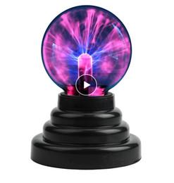 Плазменный шар глобус Волшебная луна лампа USB Электростатическая сфера Сенсорная лампа Новинка Игрушечный проект Спальня Новады от