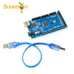 Argentina MEGA2560 MEGA 2560 R3 (ATmega2560-16AU CH340G) AVR Placa USB Placa de desarrollo MEGA2560 con cable para arduino Suministro