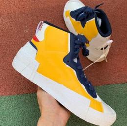Sacai x Blazer Mid Combine Dunk Freizeitschuhe Damen Herren Trainer Toki Slip Txt Sport Skate Avantgarde Trailblazers Sneakers von Fabrikanten