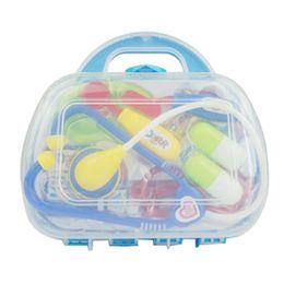 41152e97f0d China 11pcs pack Kids Doctor Set Product Baby Toys Plastic Medicine Cabinet  Children Simulation Doctors Game