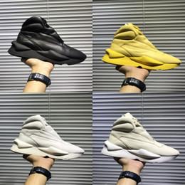 Zapatos y3 para hombre online-2018 Nuevo color verde Y3 Chunky zapatilla de deporte Suberou Hombres Mujeres Ponte en los zapatos ocasionales Gris Negro Blanco Azul Rojo Y3 Yohji las zapatillas de deporte