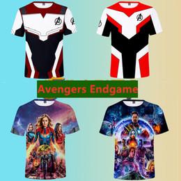 Avengers 4: Avengers Endgame Film Aksesuarları Avengers Endgame T Shirt Marvel Ultimate Serisi Üst Giysiler nereden