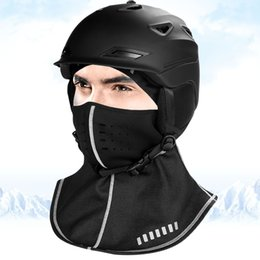 ride thermal masks Coupons - MUQGEW Warm Hiking Caps Windproof Thermal Fleece cycling Skiing Headwear Masks Cover Riding mask cycling helmet Winter