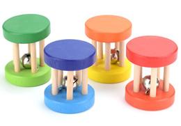 Bébé 1 pcs Montessori Cage En Bois Hochets Jouet Musical Cloche Instruments Secouant La Cloche Jouets Intellectuelle Jouets Éducatifs ? partir de fabricateur