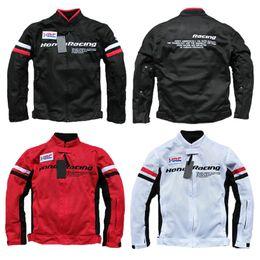 Moto ropa hombres online-Moto Conducción para hombre motocicleta carreras chaqueta moto gp equitación ropa chaquetas hombres jaqueta motoqueiro armadura abrigo cruzado