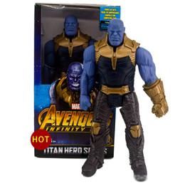 Canada 2019 nouvelle arrivée Avengers 3 Films Marvel Figurines Figurines Hulk Thanos Hulkbuster Activité jouets miniatures Offre