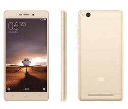 64-битные сотовые телефоны с окта-ядром Скидка Оригинал Xiaomi Redmi 3 4G LTE Телефоны 64-битной памяти Octa Core RAM 3GB ROM 32GB Android 5.1 оптовая сотовый телефон
