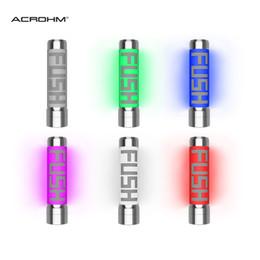 chip de proteção Desconto Acrohm FUSH Não Regulado Semi-Mech LEVOU Tubo Mod Com ACE Chip Proteção de USO Alta Condutividade Elétrica PC Tubo 100% Autêntico