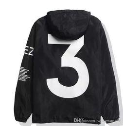 chaqueta de viaje yeezus Rebajas 2018 KANYE WEST chaqueta Hombres Hip Hop Cazadora MA1 Pilot Hombre Chaquetas Tour YEEZUS Season Y3 Coat tamaño EE. UU.