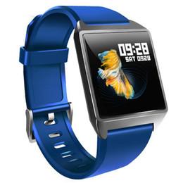 1.3-дюймовый W2 цветной экран смарт-часы пульс мониторинг артериального давления сна Bluetooth счетчик шагов IP68 смарт-спортивный браслет от