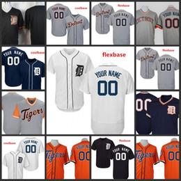 2019 camiseta cabrera Custom 2019 Tigers Stitched Jersey Mens 35 Justin Verlander 24 Miguel Cabrera Detroit 6 Al Kaline Todos los jerseys bordados cosidos camiseta cabrera baratos