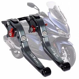 kymco scooter Rabatt Für KYMCO XCITING 400 S400 XCITINGS400 Motorrad Zubehör LOGO CNC Einstellbare faltbare Ausziehbare Scooter Bremse Kupplungshebel