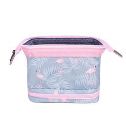 Canada Wobag Sac de Voyage Sac de Cosmétique Polyester Matériel Flamingo Bear Design Boîte de Beauté Sac de Rangement pour Cosmétiques Offre
