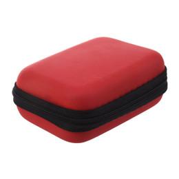 Taşınabilir Kablo Organizatör Çantası Naylon Kablo Organizatör Çantası Durumda Çanta Kabloları Koyabilirsiniz USB Flash Sürücü Şarj Kulaklıklar Pembe 12 * 8.5 cm supplier pink usb flash nereden pembe usb flaş tedarikçiler