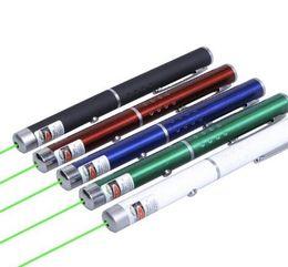 padrão verde ponteiro laser Desconto Ponteiros Laser de Diodo laser Visível Grande Luz Poderosa Elegante 650nm 5mw vermelho azul verde Laser Pointer Light Pen Lazer Feixe