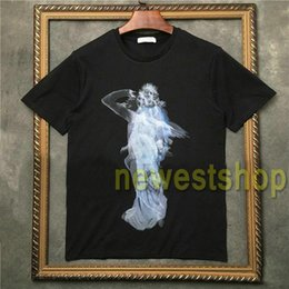 Graffiti-t-shirts für männer online-2020 newest Brand tag clothing men short sleeve t shirt good quality t shirt Graffiti phantom angel wing printing tshirt Designer t shirt